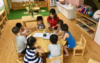 Trải nghiệm một ngày đến trường của trẻ ở Việt Mỹ Montessori