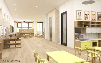 trường mầm non Montessori chuẩn quốc tế tại Hàm Nghi - Mỹ Đình