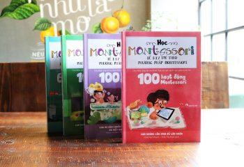 5 cuốn sách gối đầu khi dạy con tại nhà theo phương pháp Montessori