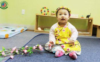 Trường mầm non nhận trẻ 6 tháng tuổi khu vực Cầu Giấy