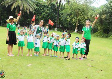 Cùng Việt Mỹ Montessori dạo quanh công viên mùa hạ xanh Ecopark