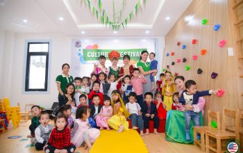 """Chương trình Trải nghiệm thực tế: Khám phá """"Cultural Festival - Ngày hội đa Quốc gia"""" tại American Montessori School"""
